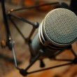 Microphone detail - Stock Photo