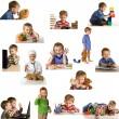 Set playing child — Stock Photo