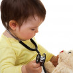 médecin de bébé — Photo