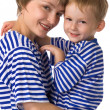 mother and son — Stock Photo