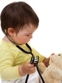 Baby doctor — Stock Photo