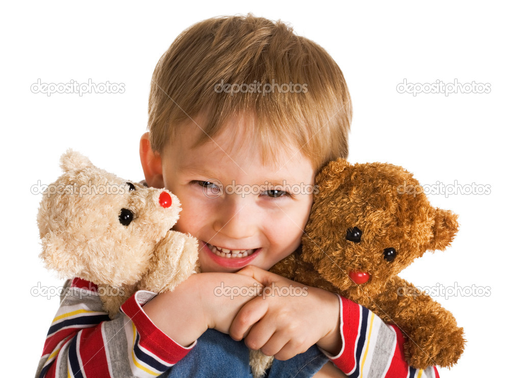 Happy day of little boy — Stock Photo #1720818