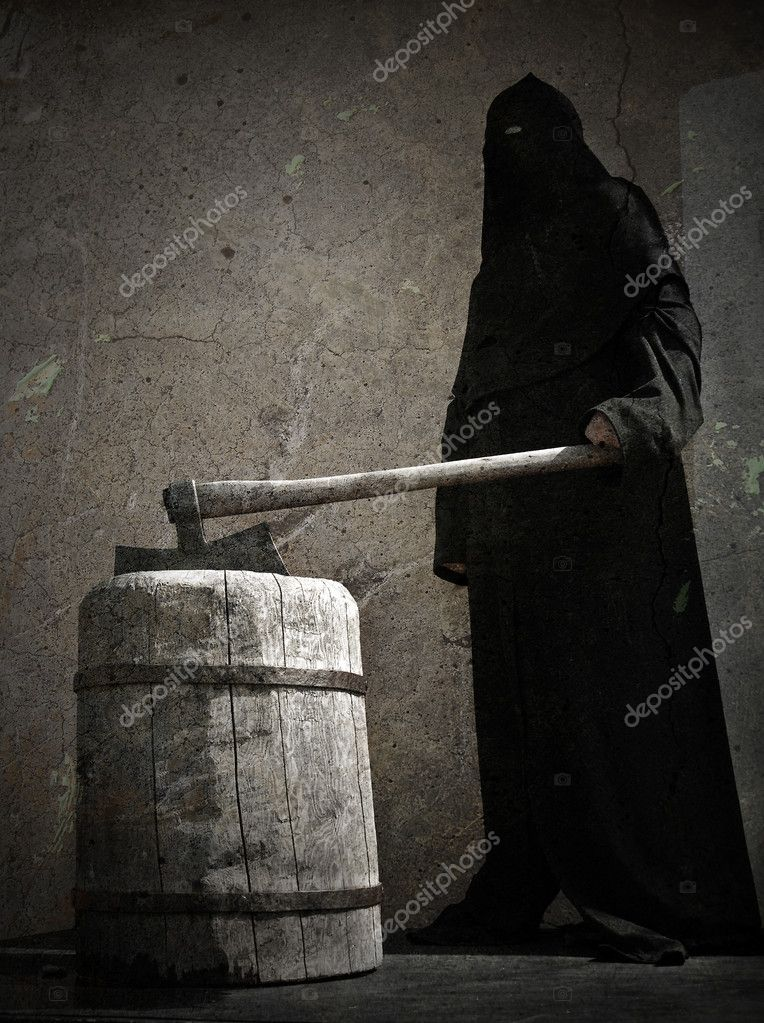 Medieval headsman — Stock Photo #1727611
