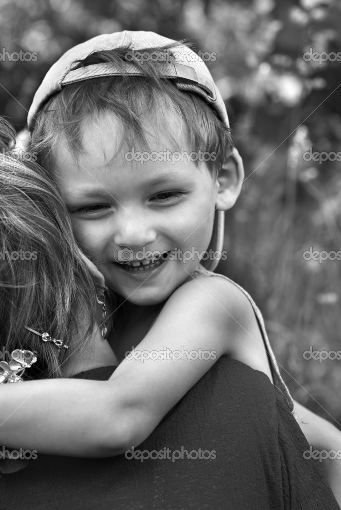 Happiness of the little boy  Stock Photo #1727639