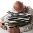 Stock Photo: Work overload