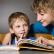 Reading together — Stock Photo #1733664