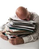 Work overload — Stock Photo
