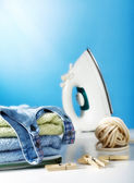 Domestic chores — Stock Photo