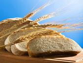 Fresh wheat bread — Stock Photo
