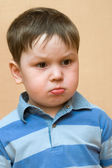 Crying kid — Stock Photo