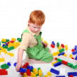 Play of  kid — Stock Photo