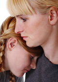 Mother and teenage daughter — Stock Photo