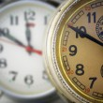Two clocks. — Stock Photo #1636674