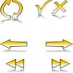 Web symbol set — Stock Vector #2066307