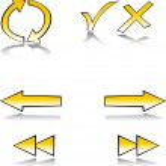 Web symbol set — Stock Vector
