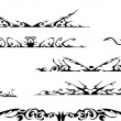 Royalty-Free Stock Vektorgrafik: Tribal ornate set