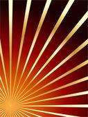 红色和金色矢量抽象背景 — 图库矢量图片