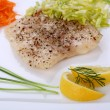 Fish dish — Stock Photo #1717162