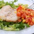 Fish dish — Stockfoto