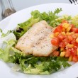 Fish dish - Stock Photo