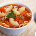 Tomato soup — Stock Photo #1720945