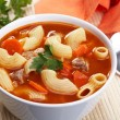 tomato soup&quot — Stock Photo