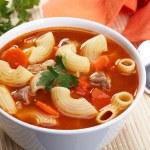 Tomato soup — Stock Photo #1720955