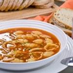 Tomato soup — Stock Photo #1721477