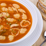 Tomato soup — Stock Photo #1721514