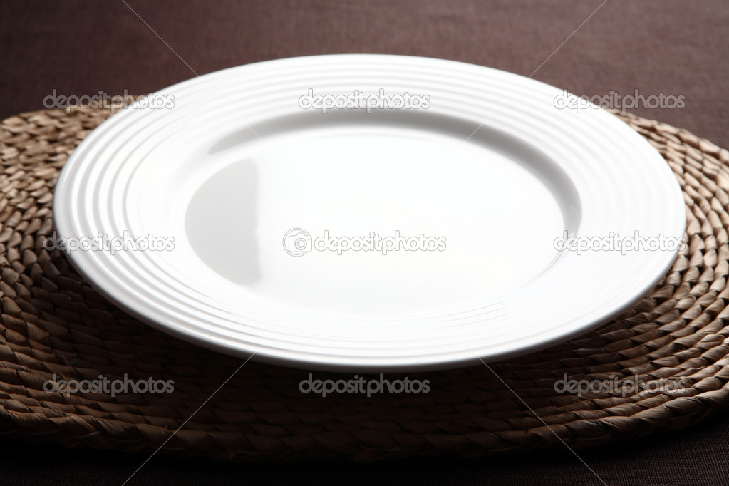 Empty plate — Stock Photo #1747299