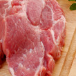 Fresh raw pork — Stock Photo #1779992