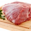 Fresh raw pork — Stock Photo #1779999