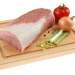Fresh raw pork — Stock Photo