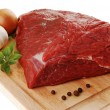 Raw beef on cutting board — Stock Photo #2166475