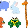 Royalty-Free Stock Vector Image: Animals icons - vector set
