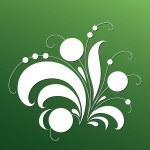 Magic Tree - vector floral elements — Stock Vector
