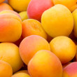 Fresh natural apricot to background — Stock Photo #1938166