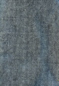 šedá jean textilní textura — Stock fotografie