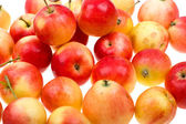 Fresh natural apples to background — Stock Photo