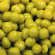 Close-up of green peas background — Stock Photo #2132156