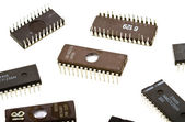 Integrated circuits — Stock Photo