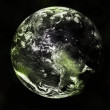 Earth planet in space to background — Stock Photo #2251271