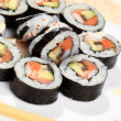 Traditional japanese sushi — Foto de stock #1656087