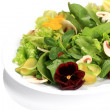 Salad  flowers — Stock Photo