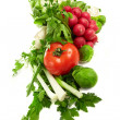 Foto de Stock  : Fresh vegetables