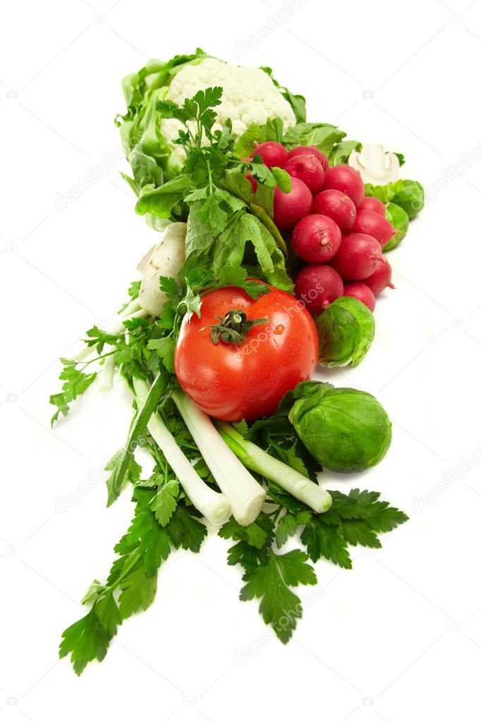 Fresh vegetables  Stock Photo #1659404