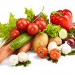 Stock Photo: Fresh Vegetables