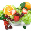 Still-life of fresh fruit — Stock Photo