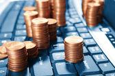 Business, e-handel — Stockfoto