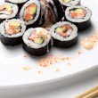 Traditional japanese sushi — Stock Photo #1760179